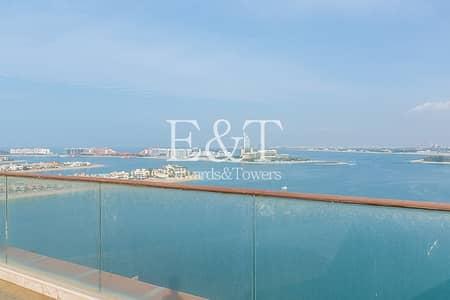 بنتهاوس 4 غرف نوم للبيع في نخلة جميرا، دبي - Panoramic Sea Views | 4 Bed Penthouse | Tiara | PJ