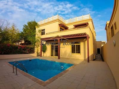 5 Bedroom Villa for Rent in Al Raha Golf Gardens, Abu Dhabi - Stunning Villa with Private Pool