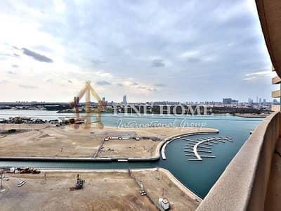 شقة 2 غرفة نوم للايجار في جزيرة الريم، أبوظبي - Awesomely Finished 1BR Apartment in Marina Bay !