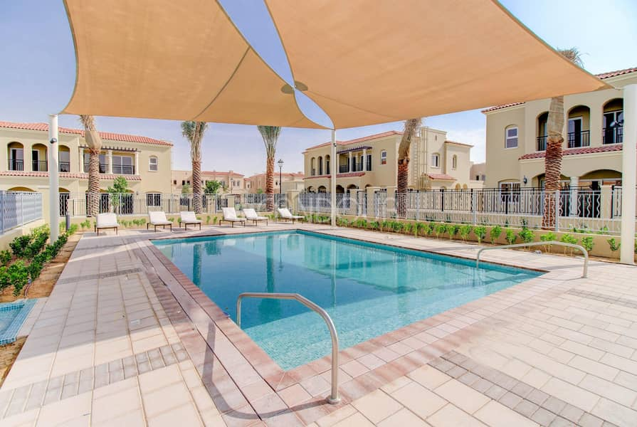 12 Landscaped | Single Row | Greenery View | 3 BR