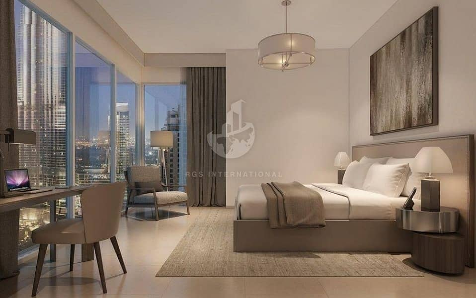 Spectacular View of Burj Khalifa inspired by Iconic Dubai Fountain !!
