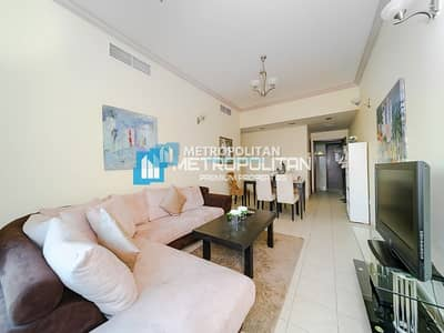 1 Bedroom Apartment for Sale in Dubai Marina, Dubai - Furnished 1 bedroom w/ balcony w/ community view