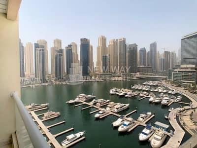 شقة 2 غرفة نوم للبيع في دبي مارينا، دبي - Marina Yacht Club & pool view / 2br + storage for sale in Marina Sail Dubai