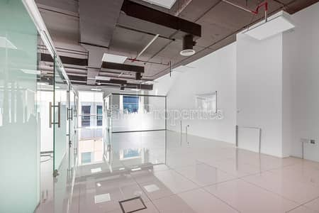Office for Sale in Business Bay, Dubai - Fitted Office with Glass Partitions