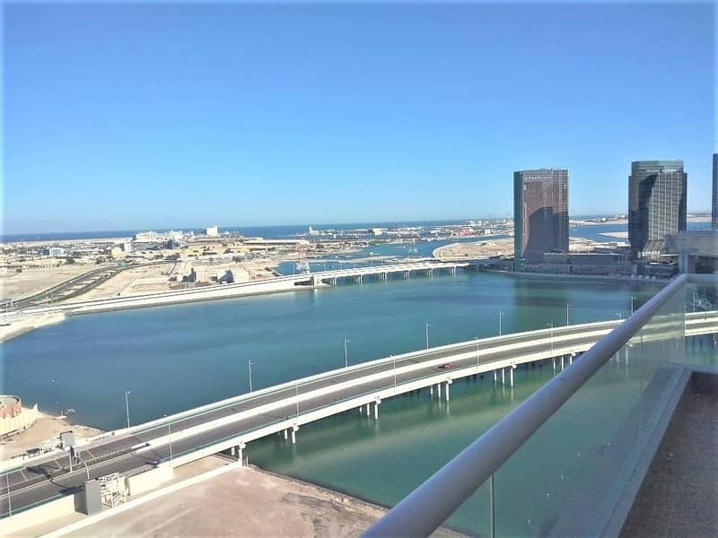 1 Full Sea View 4BR Maids Kitchen Appliances Bay View Tower Corniche