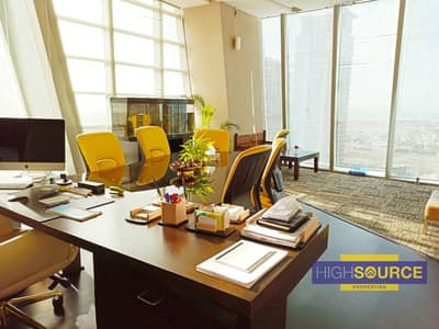 Office for Sale in Business Bay, Dubai - Fully Fitted Office in The Prism Tower For Sale in 947K