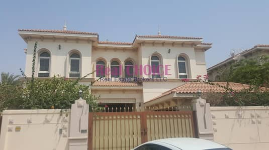 6 Bedroom Villa for Rent in Al Safa, Dubai - Fully Maintained Lovely Villa With Private Garden