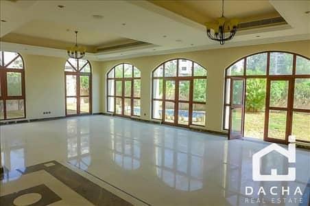فیلا 5 غرف نوم للايجار في عقارات جميرا للجولف، دبي - Big Plot size / Community View