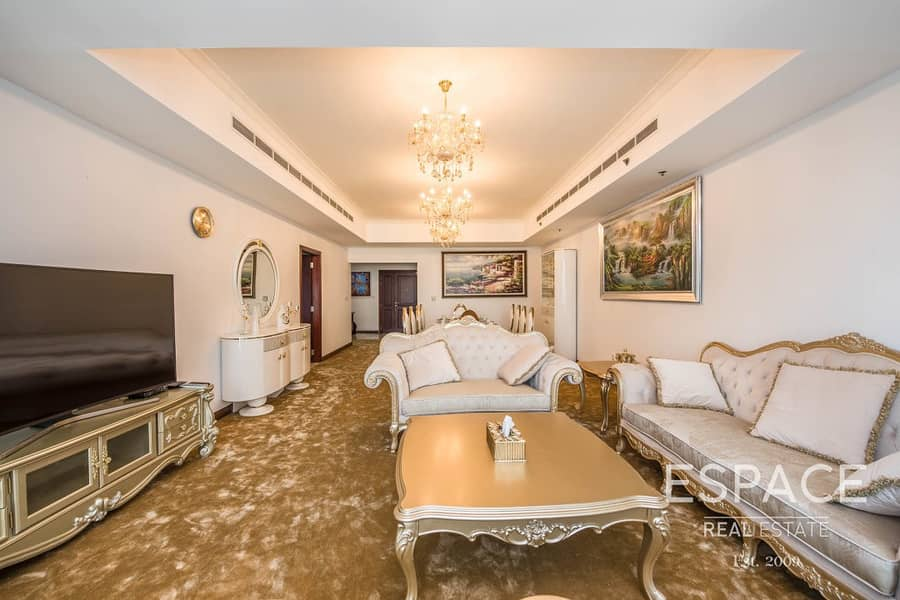 Largest 3 Bed | Marina View | Furnished