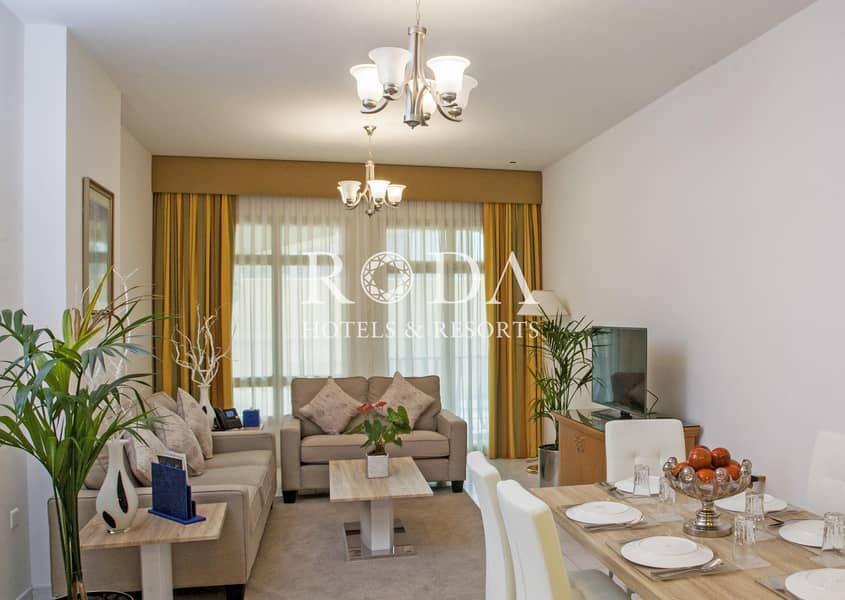 2 Fully Furnished|Flexible Payment| No Additional Cost