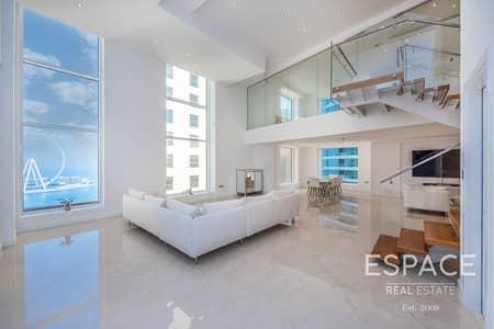2 Bedroom Apartment for Sale in Jumeirah Beach Residence (JBR), Dubai - 2 Bed Modern Loft | High Floor