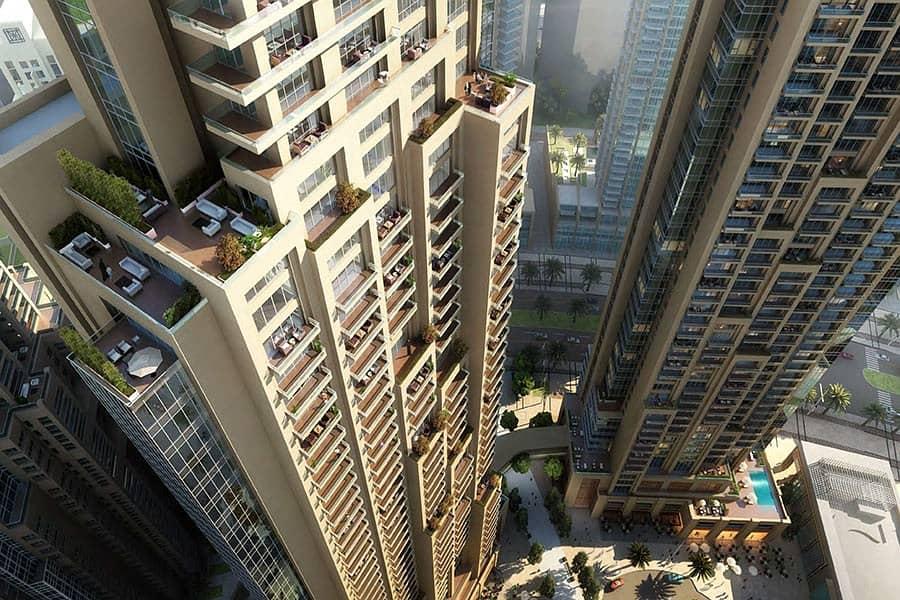 شقة في آكت ون | آكت تو وسط مدينة دبي 2 غرف 3310888 درهم - 4442581