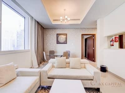 شقة 1 غرفة نوم للايجار في دبي مارينا، دبي - Full Marina View I 1 Bedroom Unit I Dubai Marina