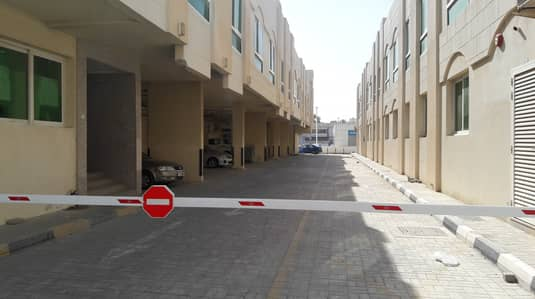 1 B/R and small hall with split central AC flat in Yarmook near Jesco S/M - Sharjah