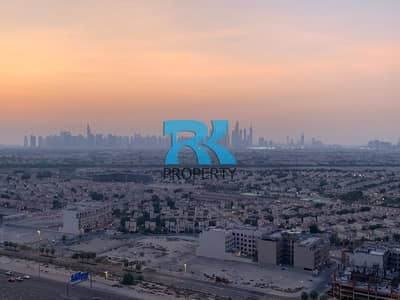 1 Bedroom Apartment for Sale in Dubai Production City (IMPZ), Dubai - 1 BEDROOM + LAUNDRY APARTMENT WITH SKYLINE VIEW