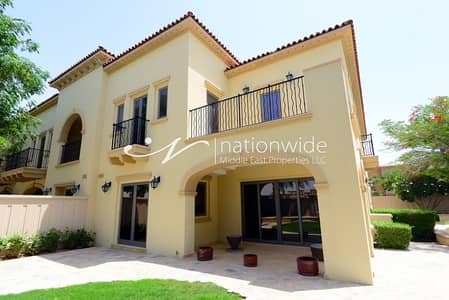 3 Bedroom Villa for Rent in Saadiyat Island, Abu Dhabi - Modern Urban Living with Spacious Garden