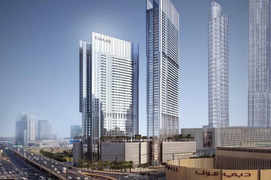شقة في فيدا ريزيدنس دبي مول وسط مدينة دبي 1 غرف 1948888 درهم - 4442806