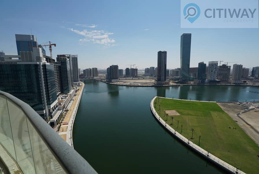 23 Full Canal View    Luxurious  1BR   Furnished