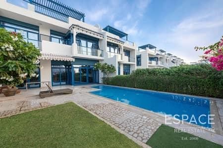 فیلا 5 غرف نوم للبيع في نخلة جميرا، دبي - 5 Bed Villa Beach Plot | Best Priced