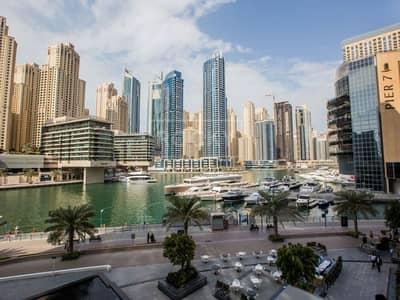 شقة 2 غرفة نوم للبيع في دبي مارينا، دبي - Spacious | 2-Bed | Partial Marina View | Dubai Marina
