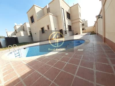 4 Bedroom Villa for Rent in Mohammed Bin Zayed City, Abu Dhabi - Private Entrance Villa With Swimming Pool