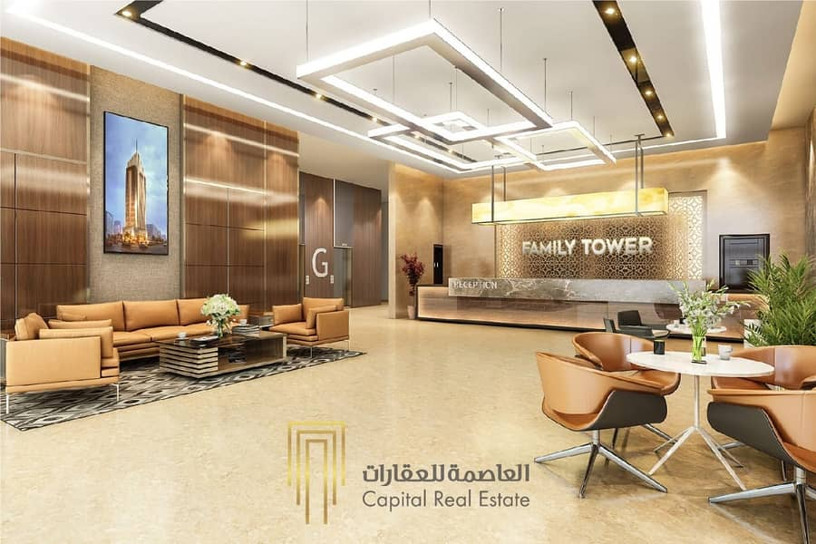 2 Now owns your apartment in Sharjah and invest it with us with an annual return of 10% guaranteed and documented in contr