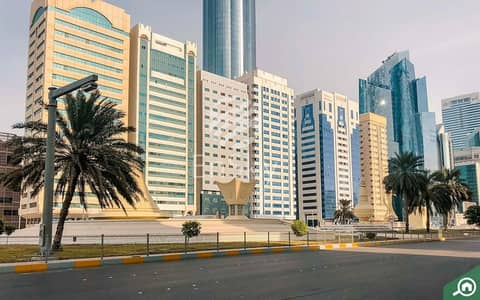 Building for Sale in Tourist Club Area (TCA), Abu Dhabi - Full rented Building - 18 floors with Good ROI