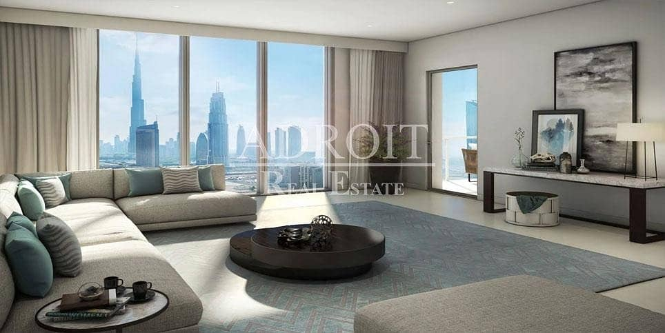 2 0% Agency Fee | Pay Over 3 Yrs | 1BR Apt in Downtown Views II