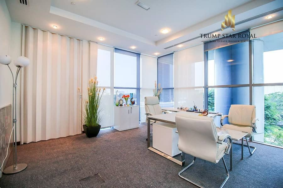 Well Maintained Office in Indigo Icon for Rent