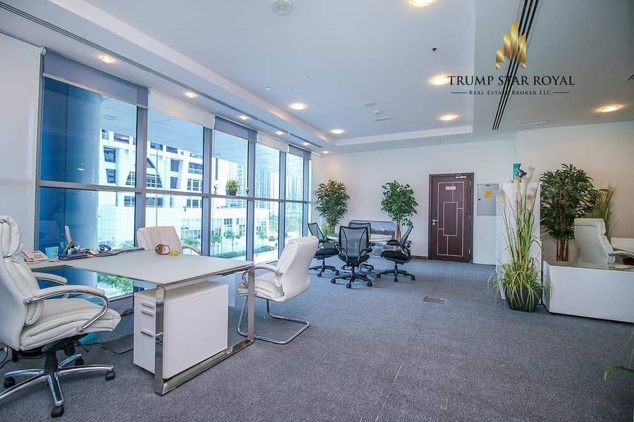 2 Well Maintained Office in Indigo Icon for Rent