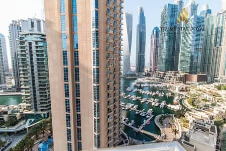 فلیٹ 2 غرفة نوم للايجار في دبي مارينا، دبي - Spacious 2Br Apt. in Ariyana Tower