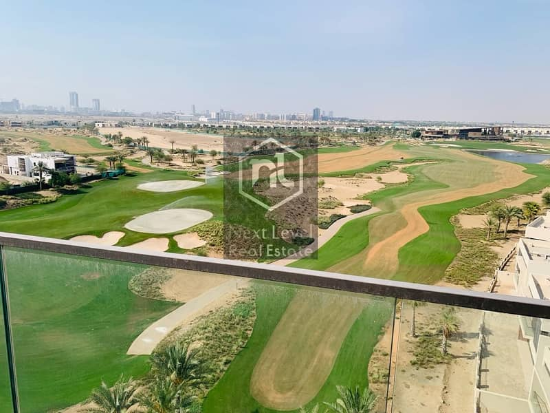 AS PRETTY AS PICTURES...FURNISHED TWO BED ROOM+MAID WITH GOLF COURSE VIEW