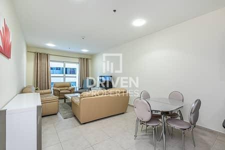 1 Bedroom Apartment for Rent in Dubai Marina, Dubai - Bright Furnished Unit   Partial Sea View