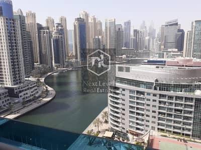 فلیٹ 1 غرفة نوم للبيع في دبي مارينا، دبي - Full Marina View - High Floor Apartment