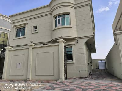 6 Bedroom Villa for Sale in Al Yasmeen, Ajman - New villa with jasmine 6 rooms on a running street close to a mosque with a very large building area
