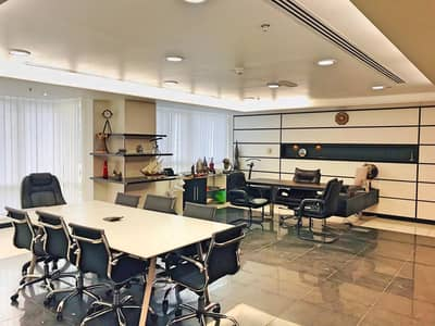 Office for Rent in Jumeirah Lake Towers (JLT), Dubai - Semi Furnish/ 2 Partitions/Manager room/Reception