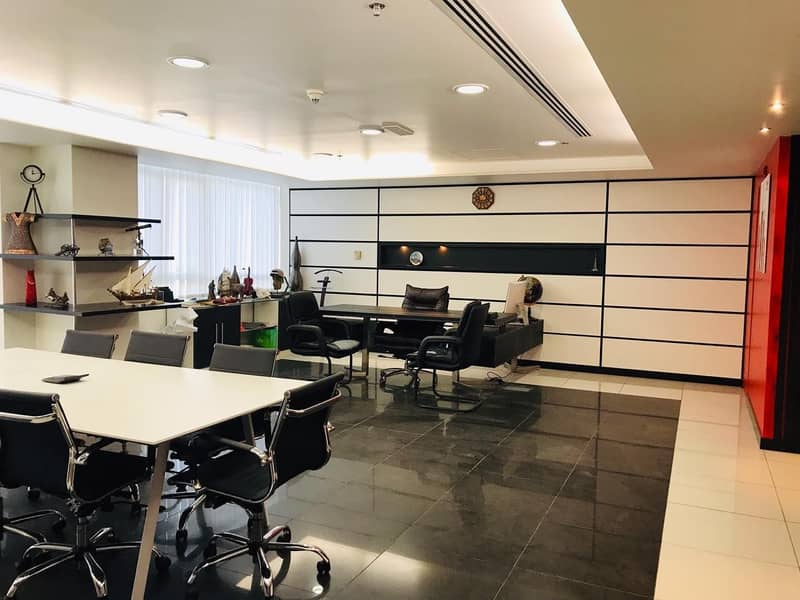 2 Semi Furnish/ 2 Partitions/Manager room/Reception