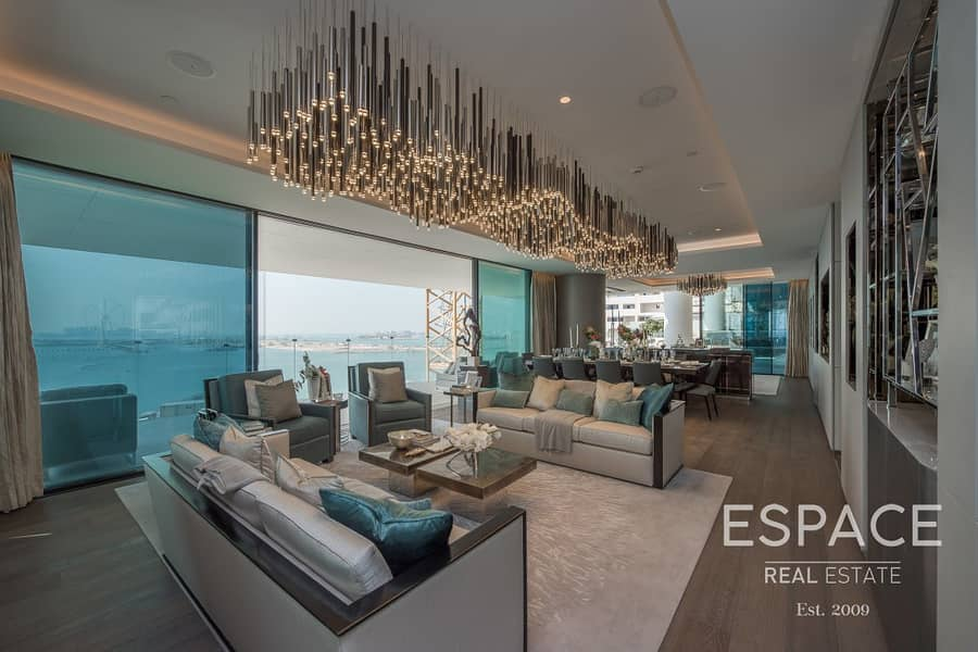 2 Premium Penthouse | Panoramic Sea | Palm