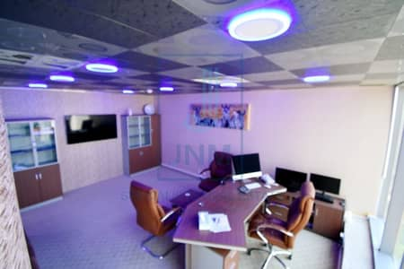 Office for Sale in Jumeirah Lake Towers (JLT), Dubai - High Floor | Fitted | Lake View