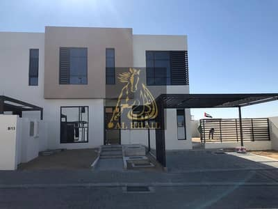 Ready to move Elegant villa 3 BD (corner) without service charge fees for life amazing location in Nasma Residences