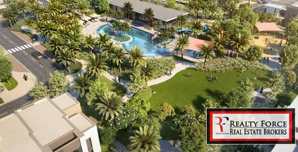 3 Bedroom Townhouse for Sale in Arabian Ranches 3, Dubai - FACING POOL GROTTO   SINGLE ROW   NEAR EXIT
