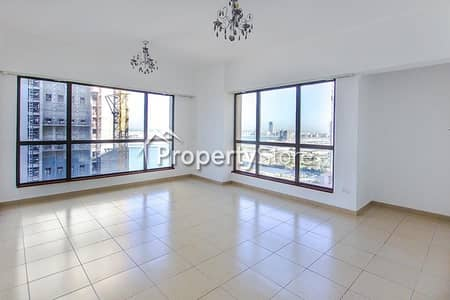 2 Bedroom Flat for Rent in Jumeirah Beach Residence (JBR), Dubai - Spacious 2 BR/Well maintained Apartment
