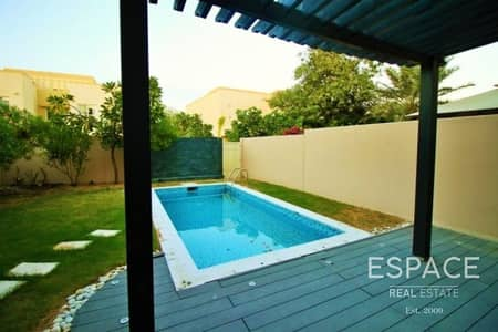 3 Bedroom Villa for Rent in The Springs, Dubai - Upgraded and Extended - Springs 2 - Pool