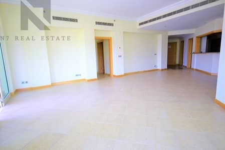 فلیٹ 3 غرف نوم للايجار في نخلة جميرا، دبي - Beach Access Included  I  Type C  I  Vacant