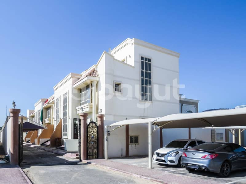 DELUXE 5 MASTER BEDROOM VILLA WITH MAID ROOM FOR RENT NEAR KFC AT KHALIFA B