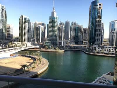 فلیٹ 2 غرفة نوم للايجار في دبي مارينا، دبي - Prime Location | Very Huge Unit | Full Marina View