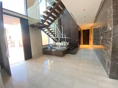 6 Bedroom Villa for Sale in Saadiyat Island, Abu Dhabi - World Class 6BR Villa in Hidd Saadiyat | Sea View
