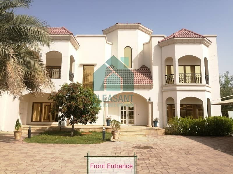 2 5Br Independent villa + Maid + PVT Pool & Garden for Rent