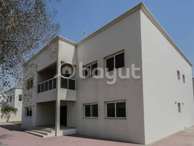 5 Bedroom Villa for Rent in Barashi, Sharjah - Double story independent villa with Swimming Pool