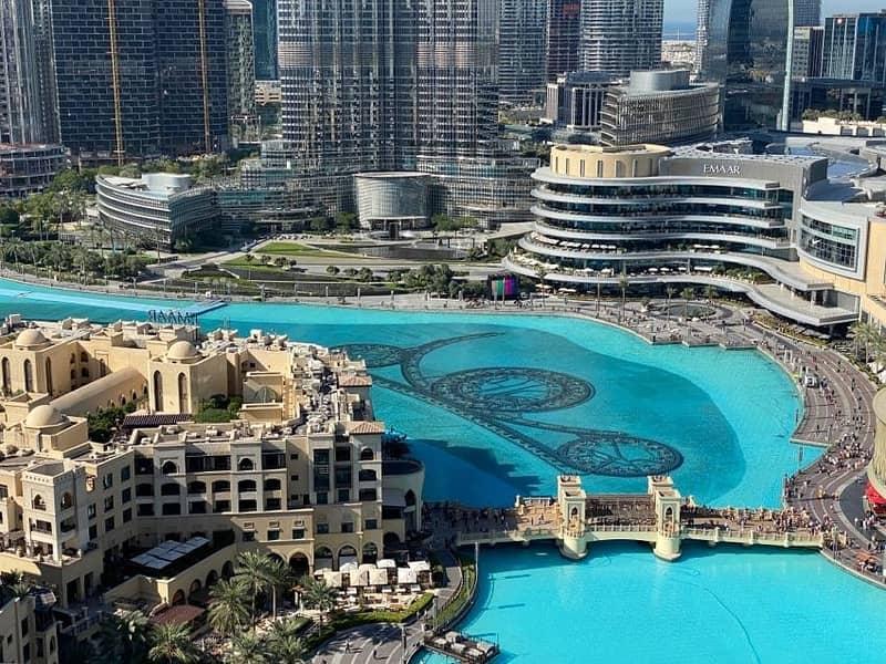 1 Bed+Study|Full Fountain View|Burj Lake Hotel